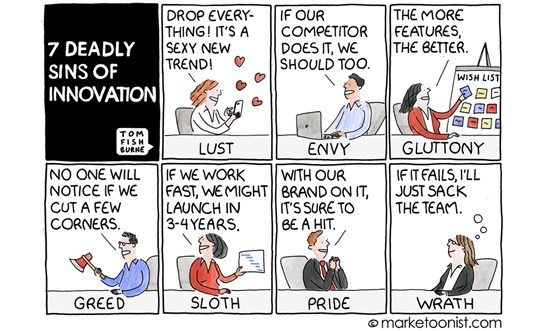 7 deadly sins of legal innovation